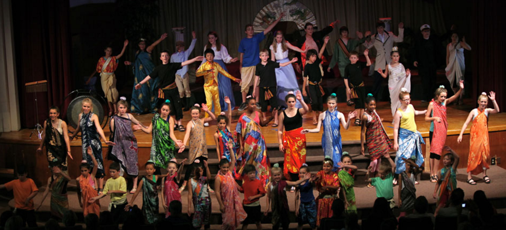 "2011 ""The King and I"" - Kids Performance Summer Theatre Camp"